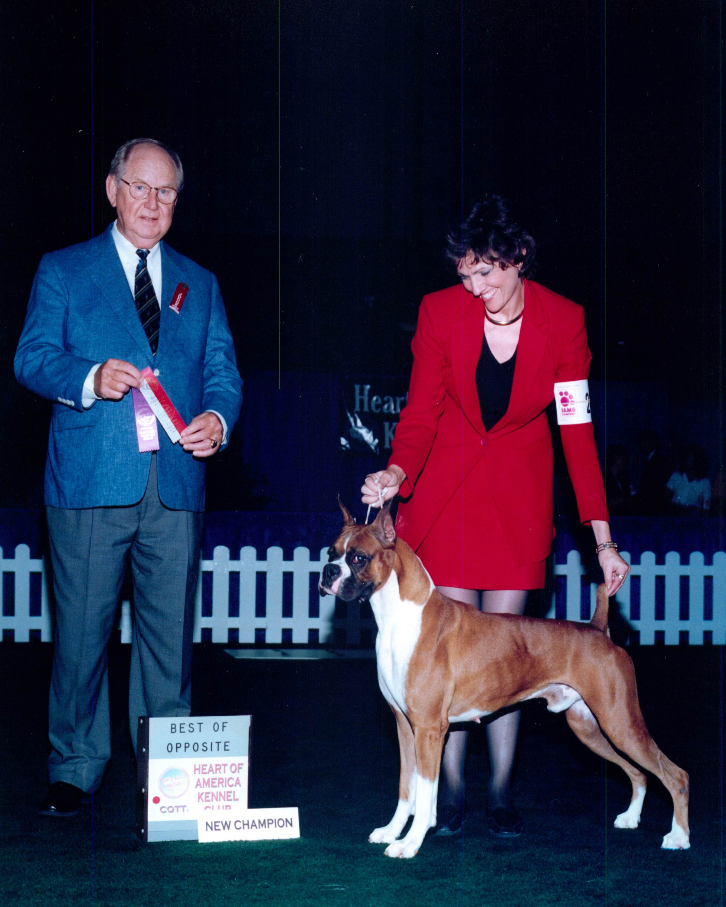 Best of Opposite Sex & Winners Dog @ 2000 Specialty Show #2