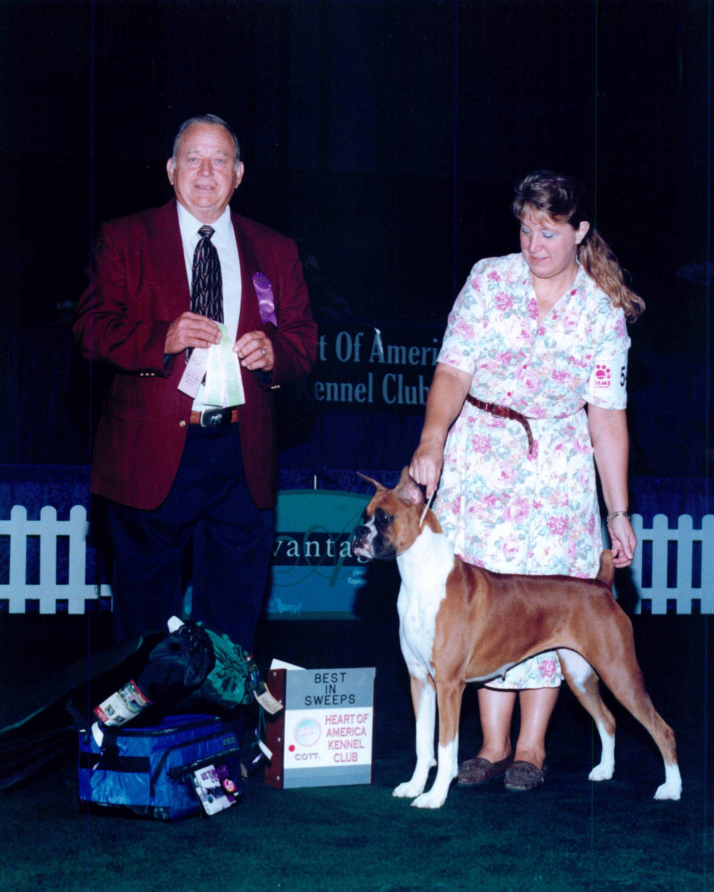 Grand Sweepstakes, Best Puppy @ 2002 Specialty Show #2