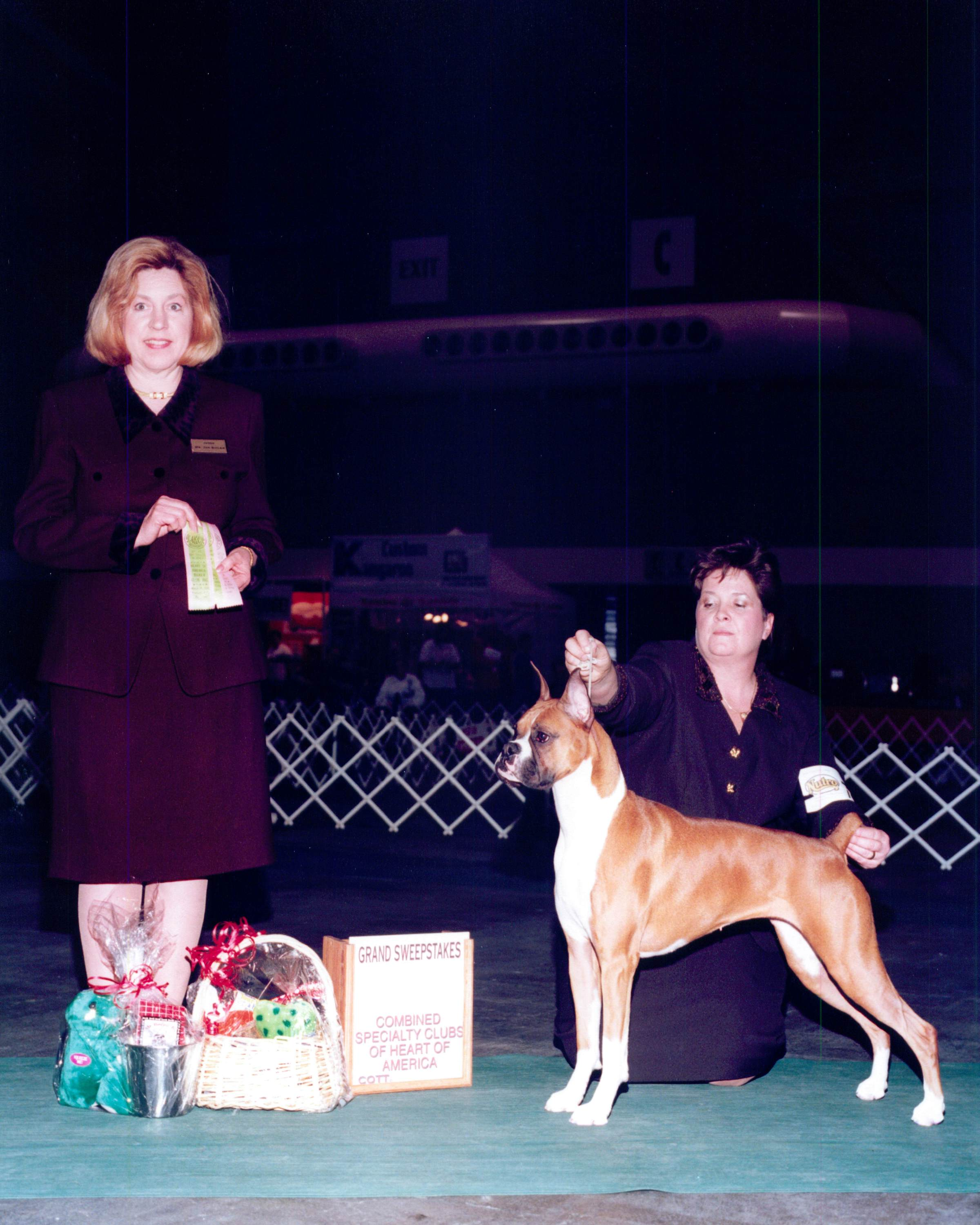 Grand Sweepstakes, Best Junior @ 2001 Specialty Show #1