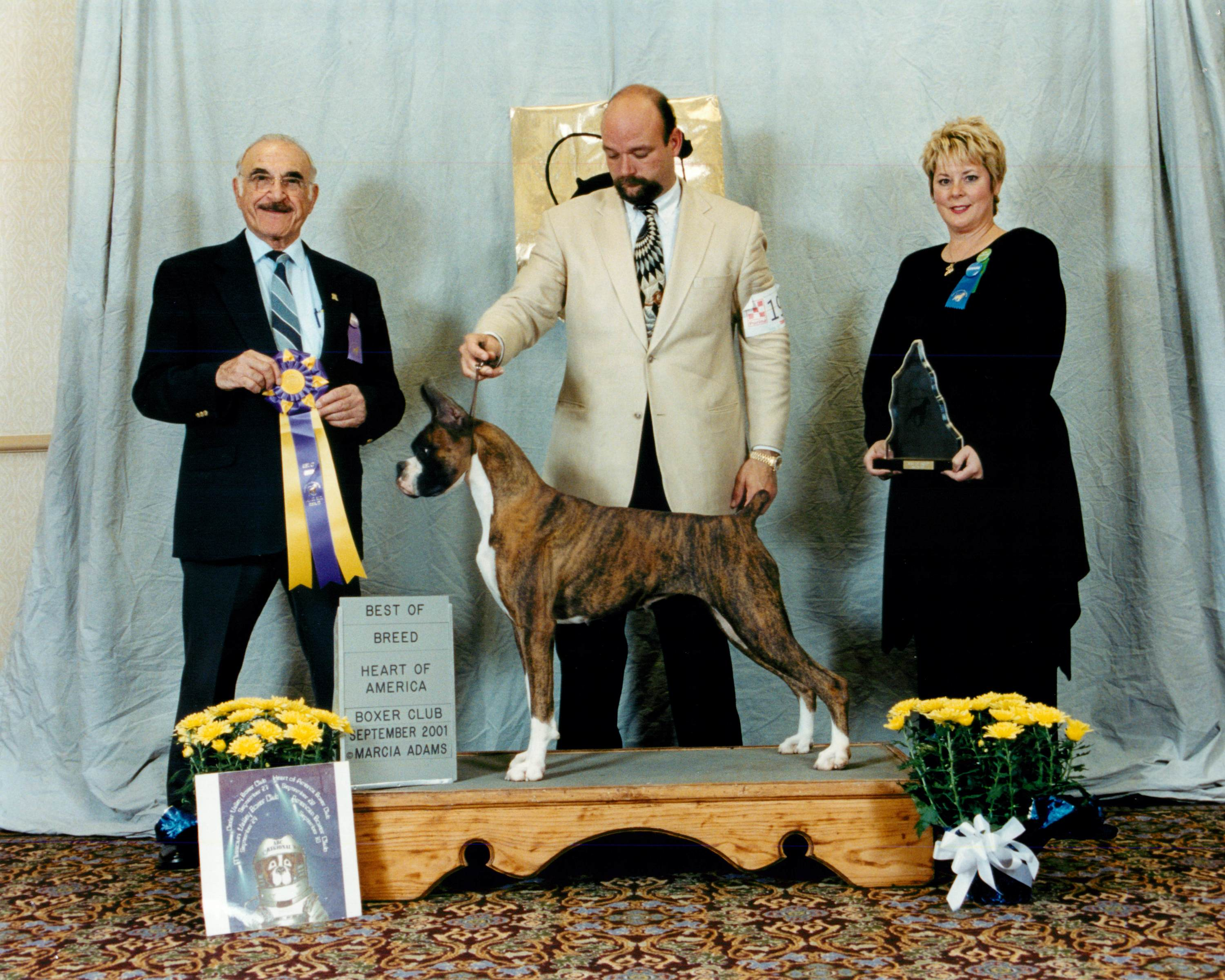 Best of Breed @ 2001 Specialty Show #2