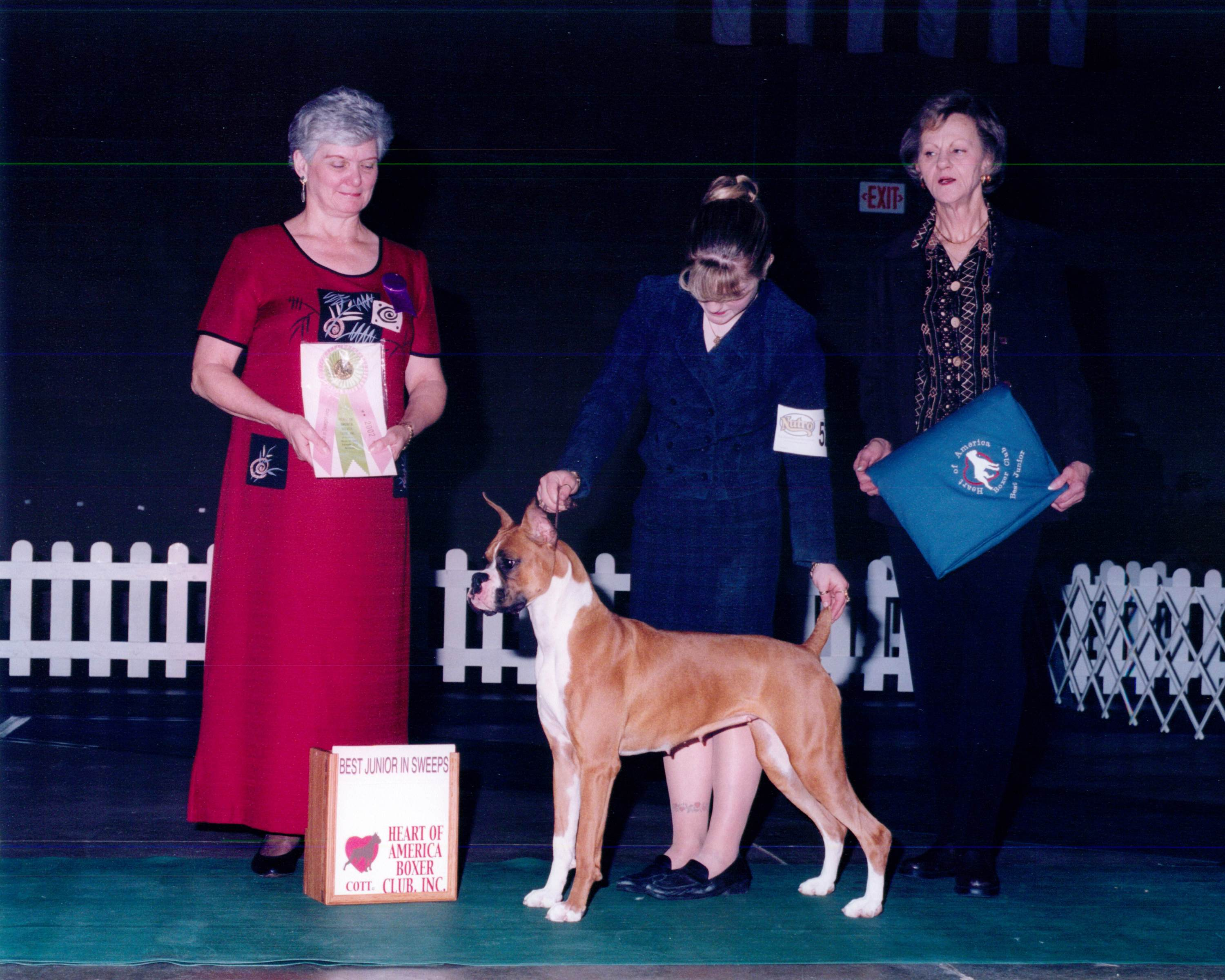 Best Junior @ 2002 Specialty Show #1