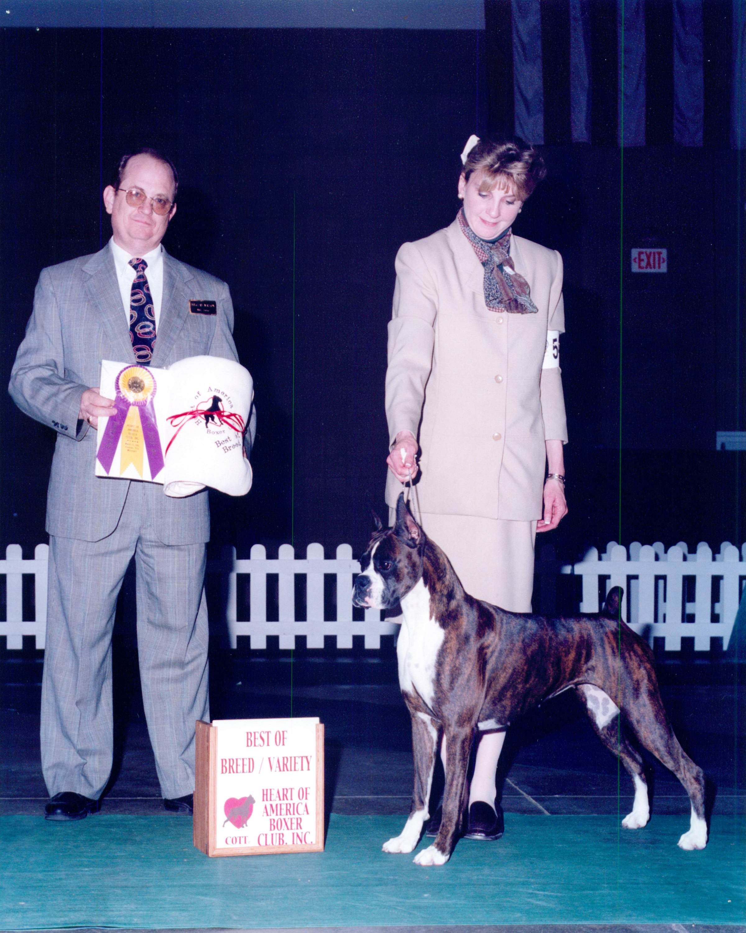 Best of Breed @ 2002 Specialty Show #1