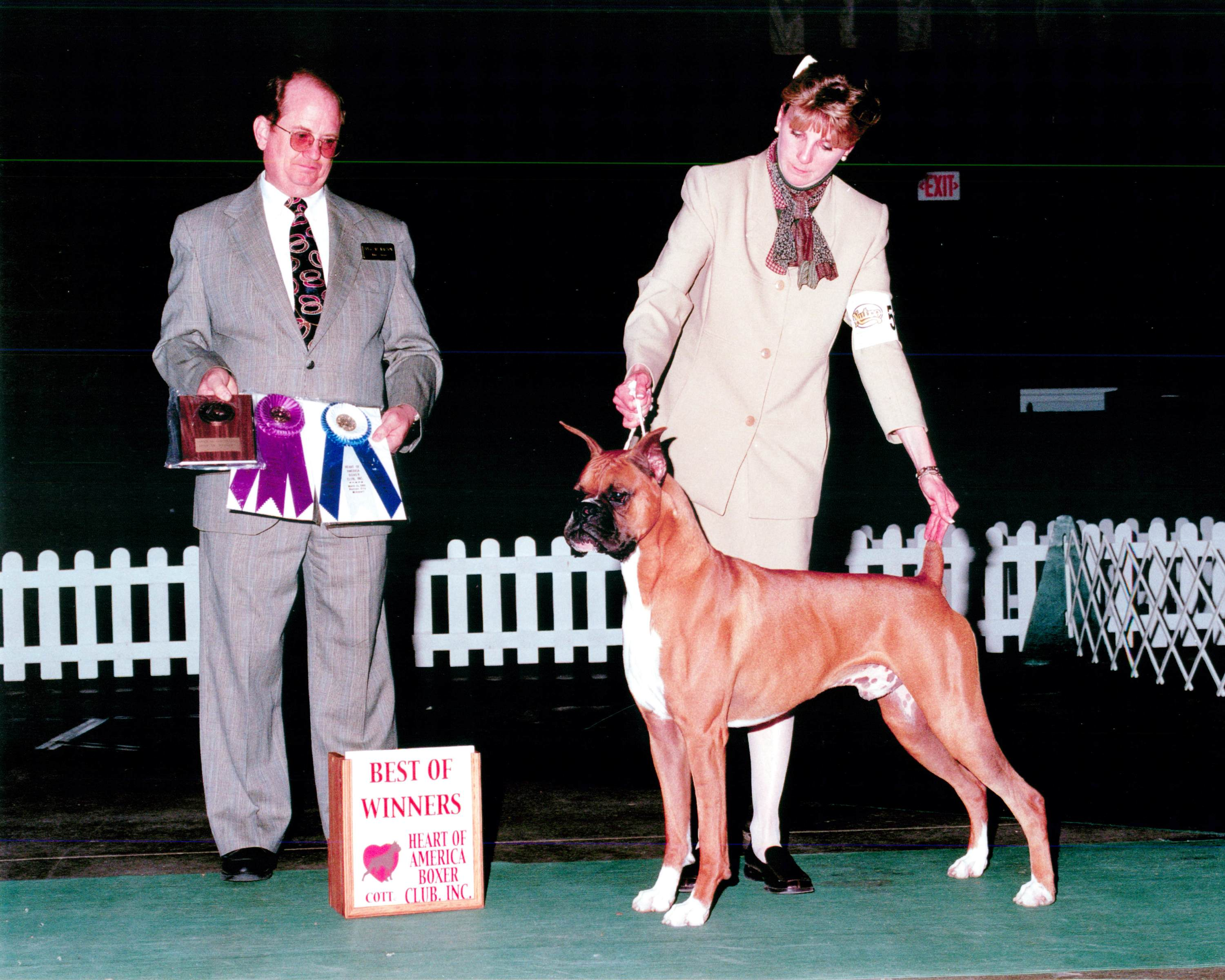 Best of Winners & Winners Dog @ 2002 Specialty Show #1