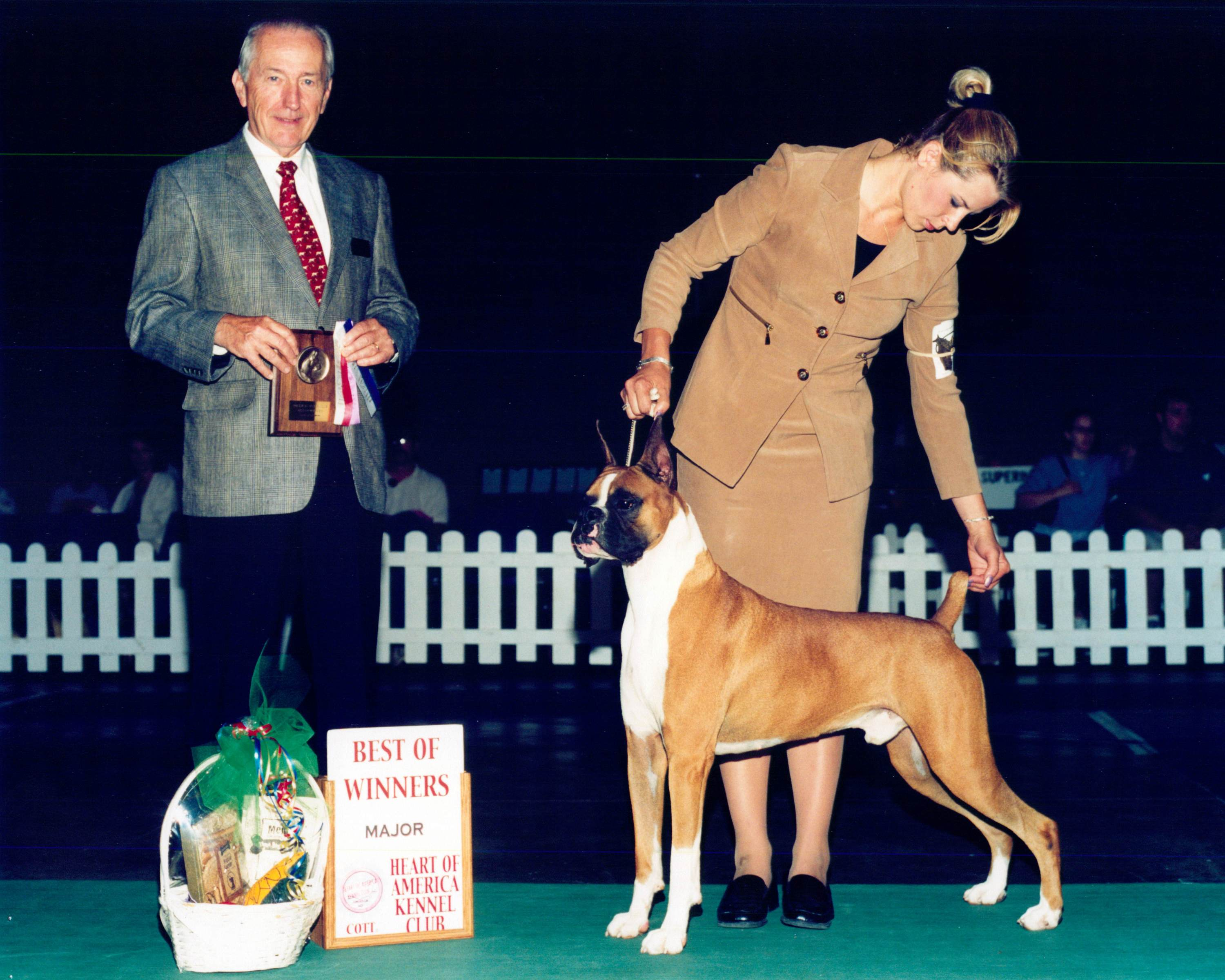 Best of Winners, Best of Opposite Sex & Winners Dog @ 2002 Specialty Show #2