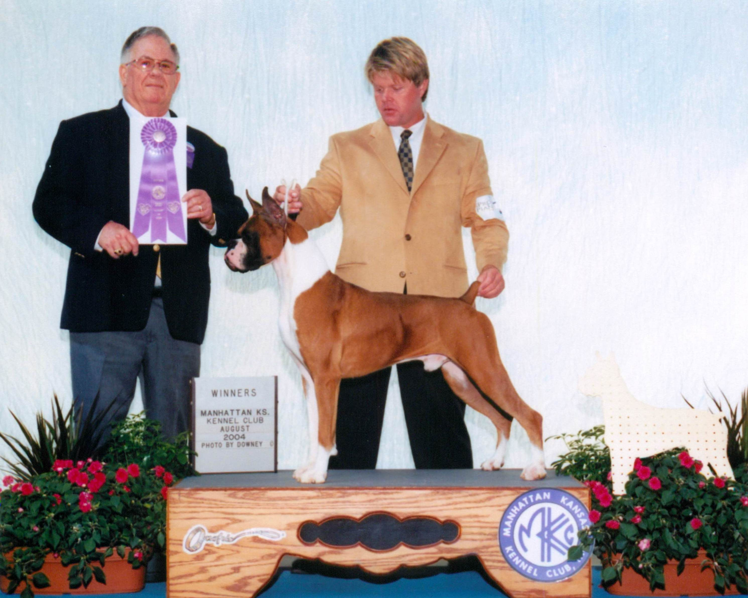 Winners Dog @ 2004 Specialty Show #2