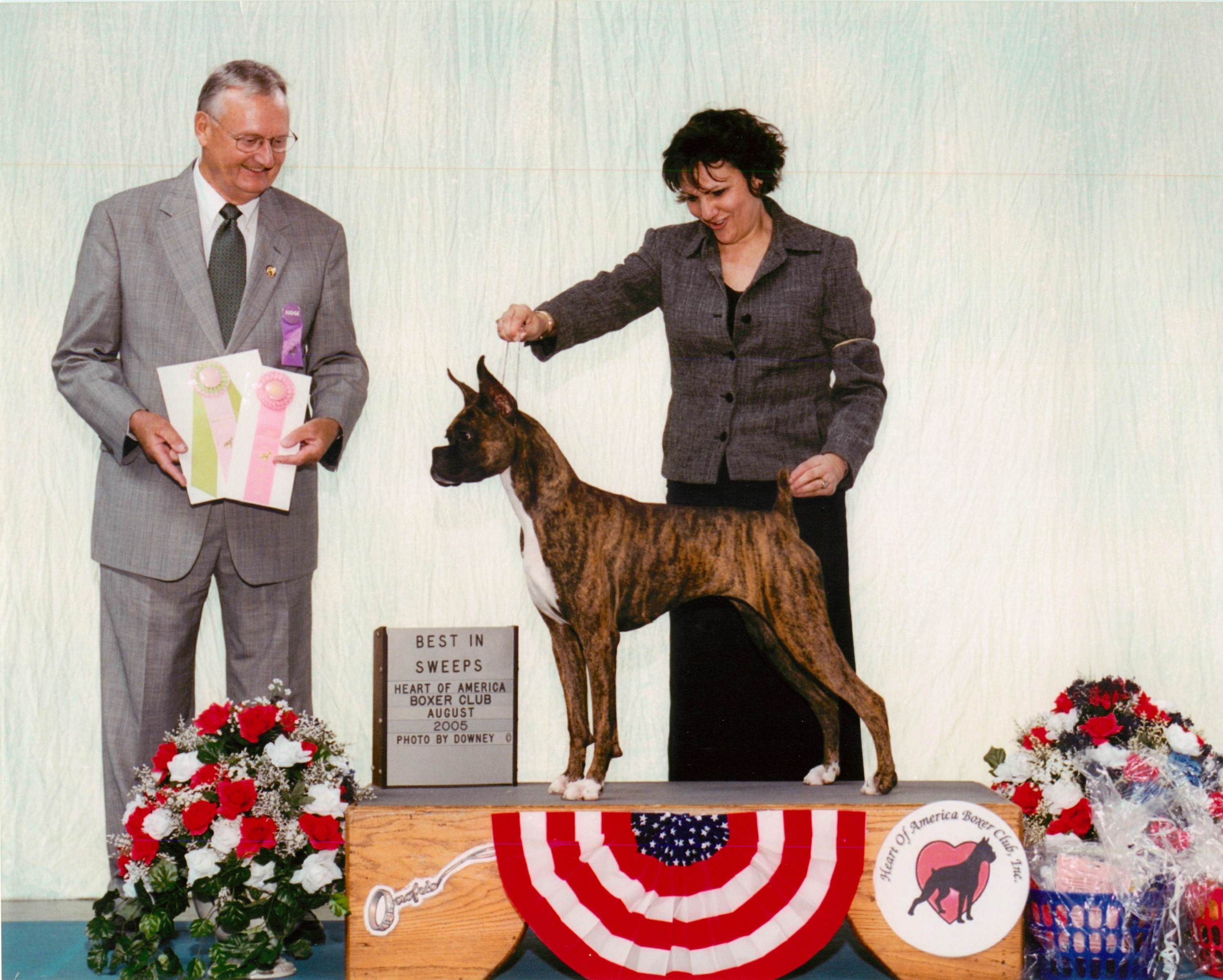 Grand Sweepstakes & Best Puppy @ 2005 Specialty Show #1