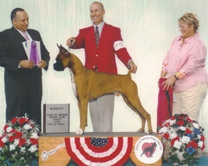 Winners Dog @ 2005 Specialty Show #1