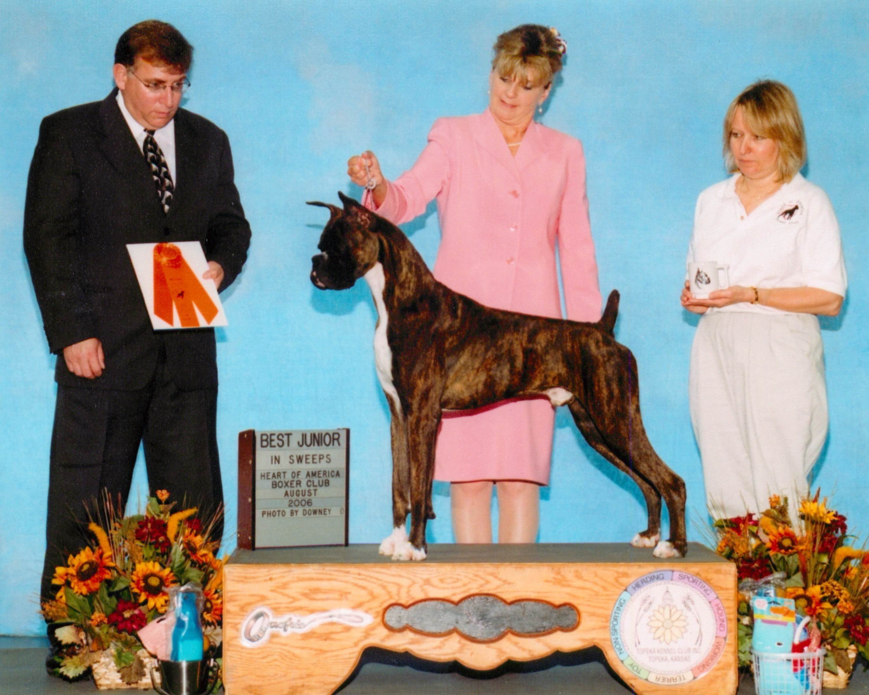 Best Junior @ 2006 Specialty Show #1