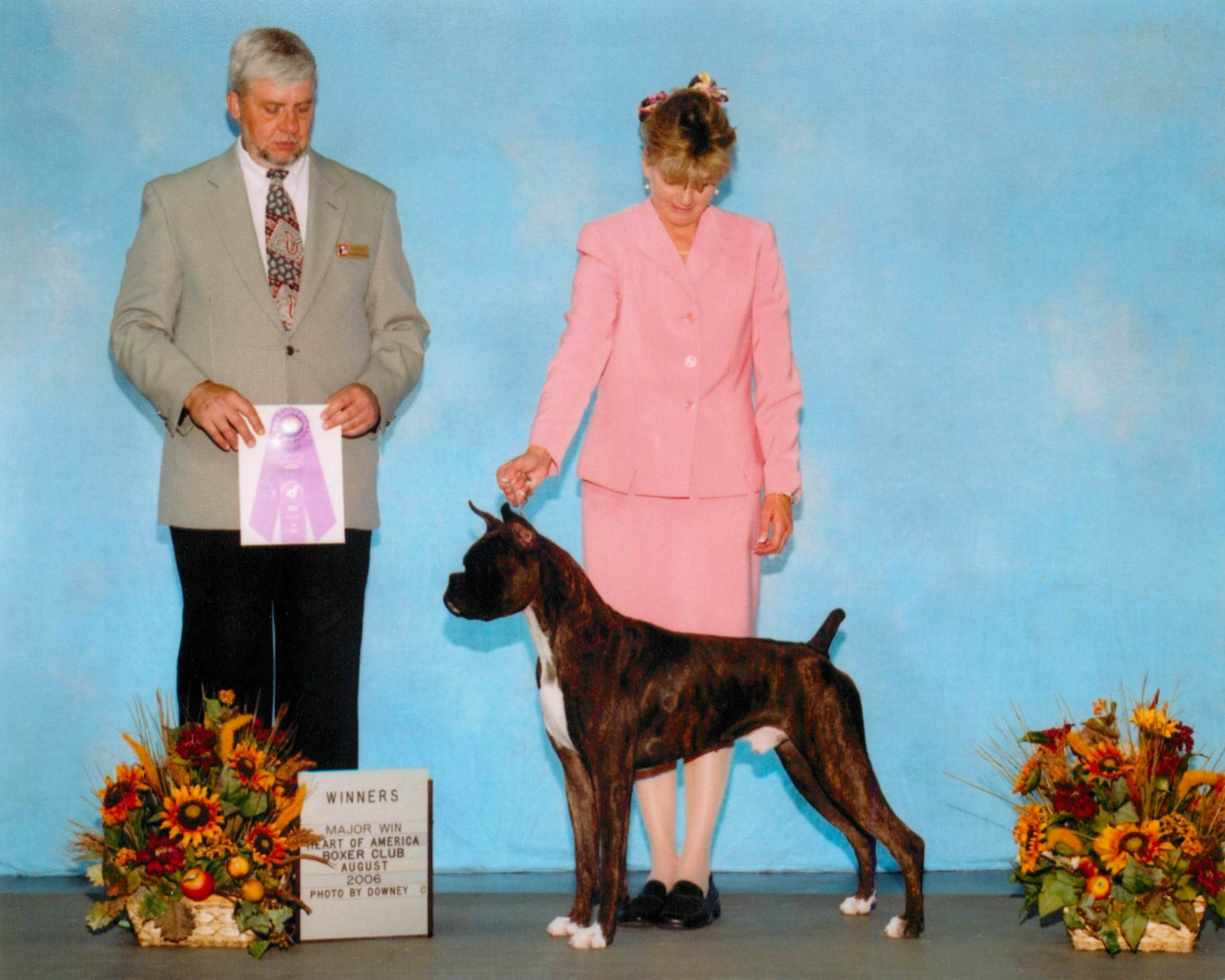 Winners Dog @ 2006 Specialty Show #1