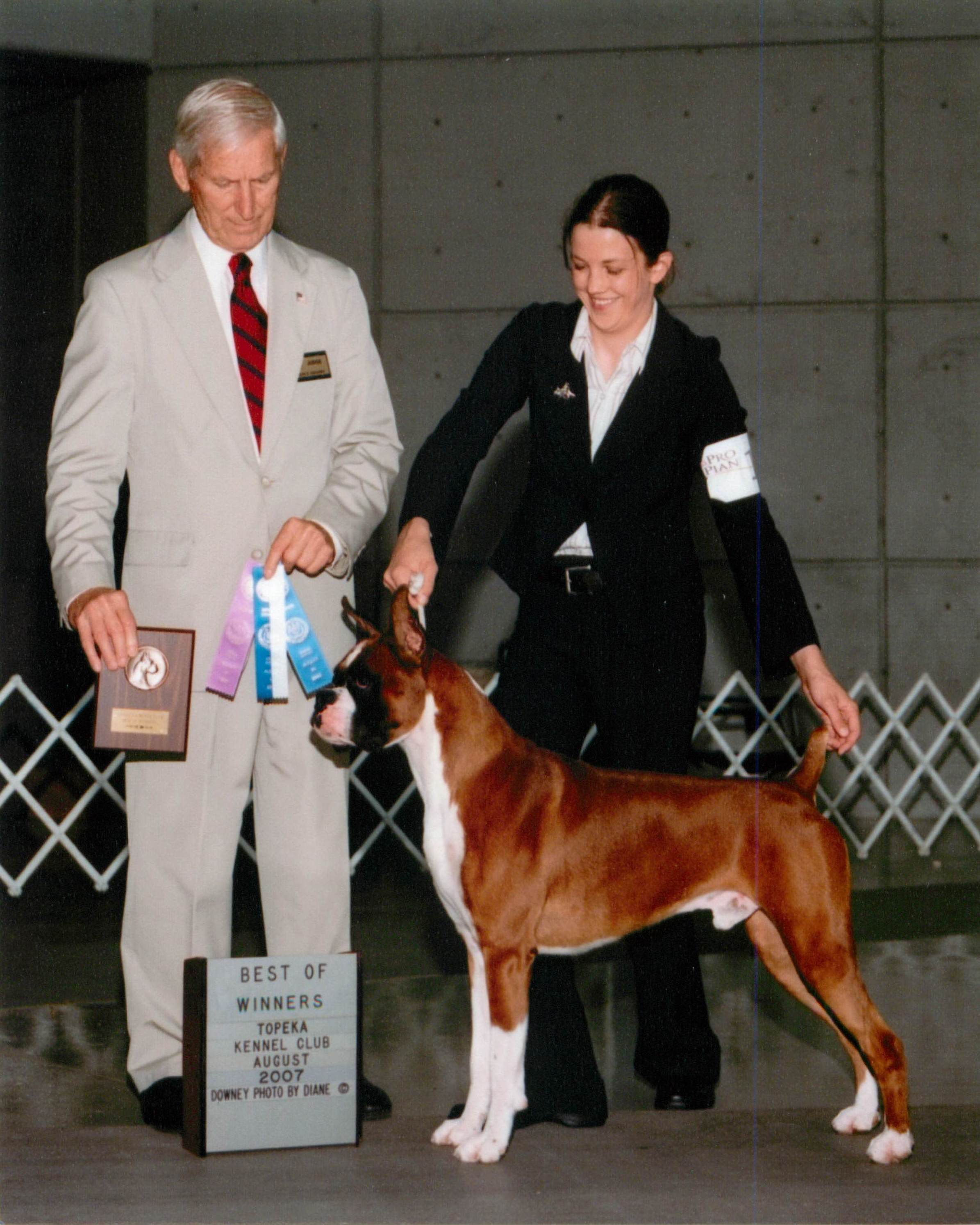 Best of Winners & Winners Dog @ 2007 Specialty Show #2