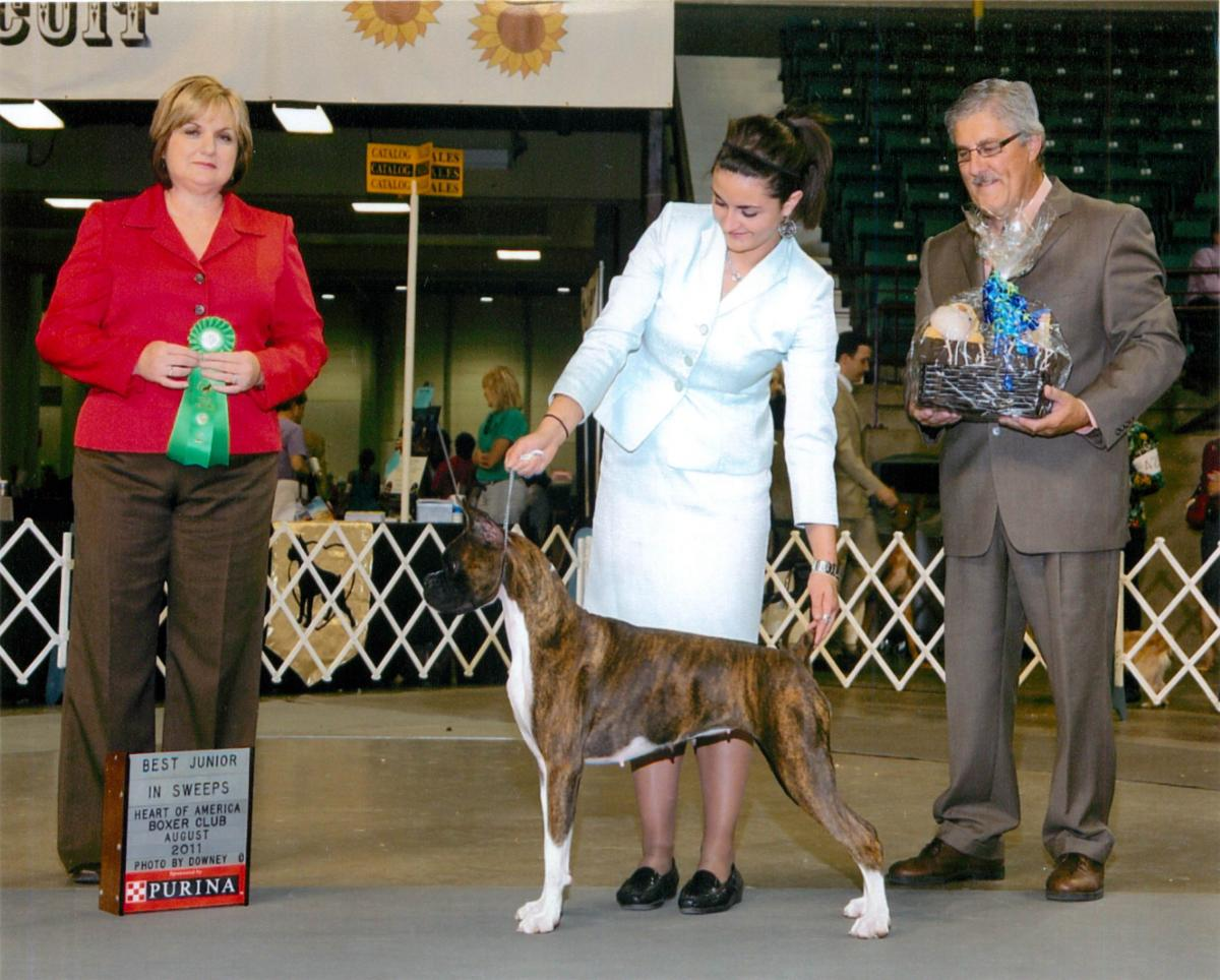 Best Junior @ 2011 Specialty Show #2