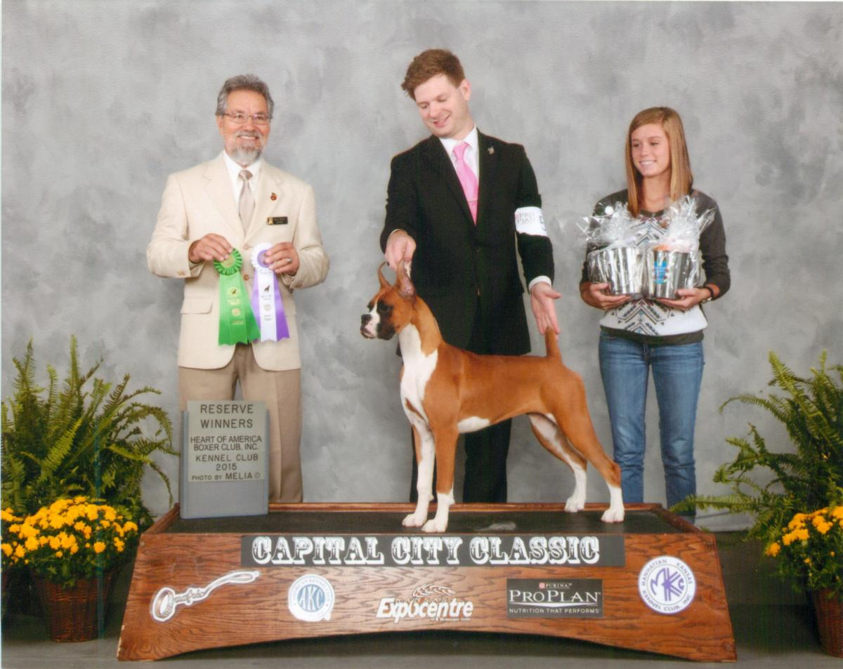 Reserve Bitch & Best Puppy @ 2014 Specialty Show #1